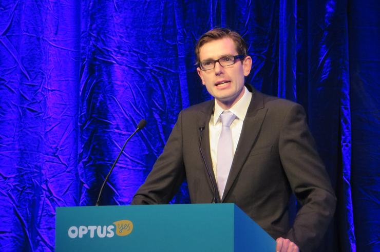 NSW minister of finance and services, Dominic Perrottet
