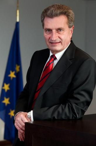 Günther Oettinger is designated to become the European Commissioner for Digital Economy and Society