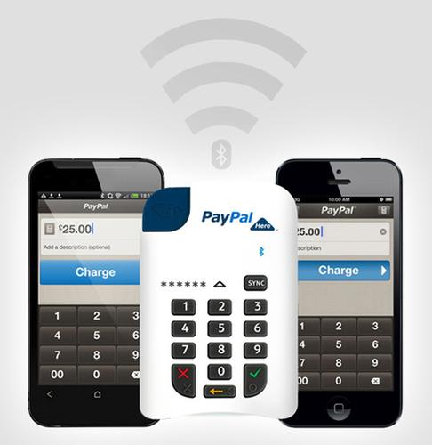 PayPal Here with chip-and-PIN reader