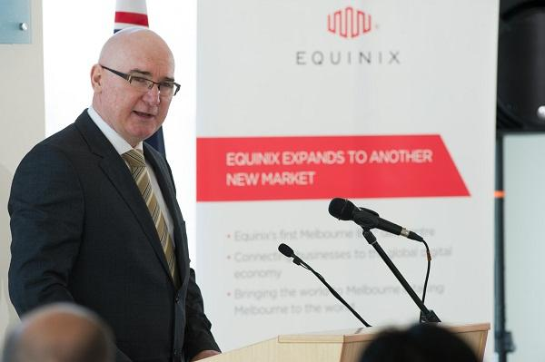 Equinix Australia managing director Tony Simonsen.