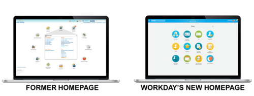 Workday has rolled out a revamped, HTML5-based user experience