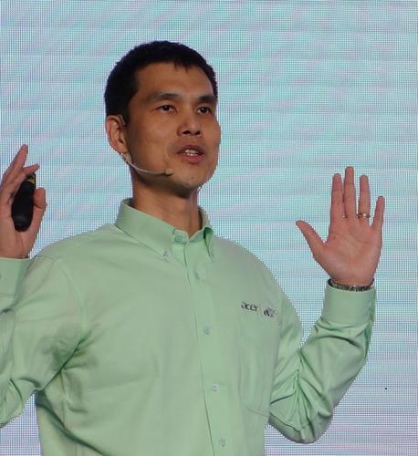 Acer executive Maverick Shih