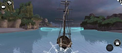Ubisoft's Assassin's Creed Pirates, as seen, for the first time, within a browser.