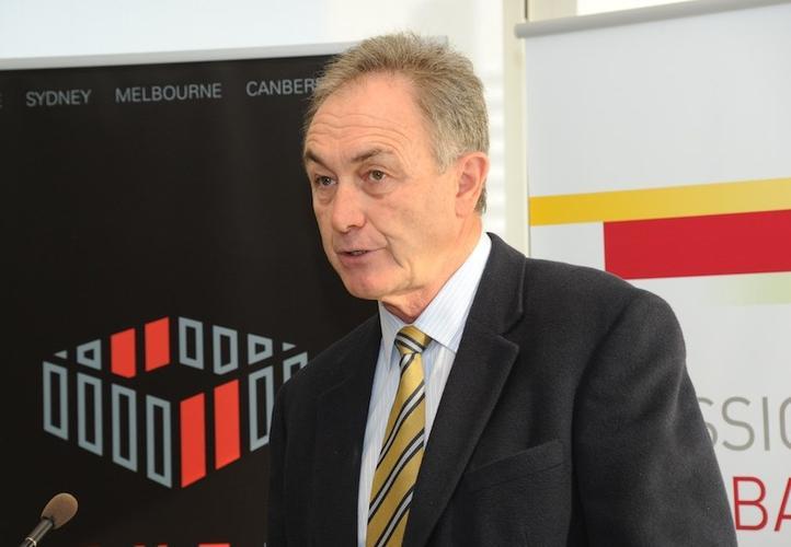 ACMA chairman, Chris Chapman, addresses NextDC event on data sovereignty. Credit: Max Australia