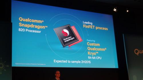Qualcomm Snapdragon 820 slide