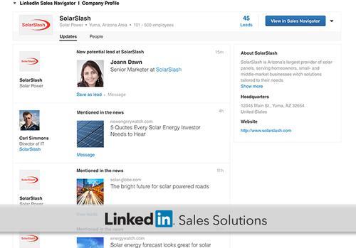 LinkedIn Sales Navigator now offers Microsoft Dynamics CRM integration