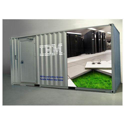 IBM says its Portable Modular Data Center is designed for green-conscious businesses that want to cut pollution and energy costs. But how effective are they?