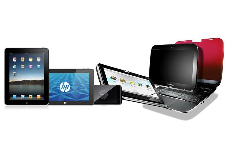 Tablets and similar devices from Apple, HP, Lenovo, ASUS and Dell