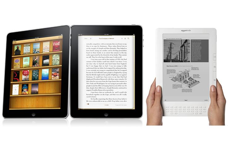 Apple's iPad vs Amazon's Kindle DX