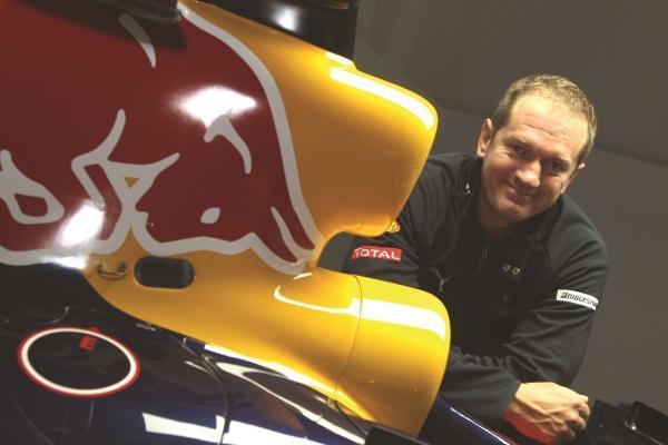 Red Bull Racing trackside infrastructure engineer, Olaf Janssen.