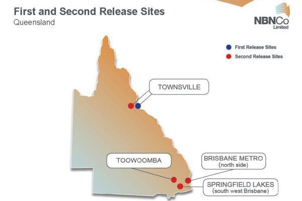 14 new second release sites were chosen by NBN Co for the rollout of the NBN on the Australian mainland, with the existing five release sites expanded by a further 3,000 premises each.