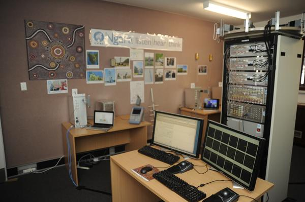 The room at the CSIRO's Marsfield offices where Ngara is being tested in-house.