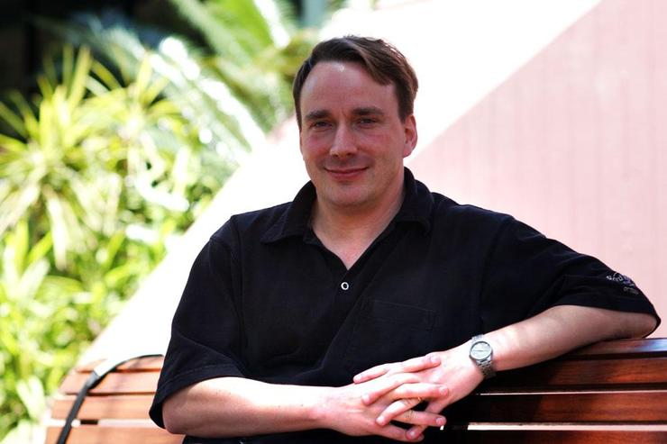Linux creator Linus Torvalds