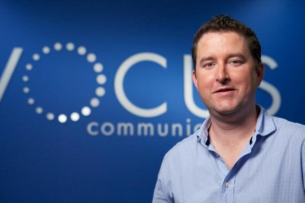 Vocus Communications chief executive James Spenceley.