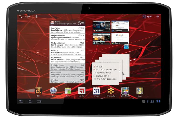 Motorola Xoom 2 Android tablet