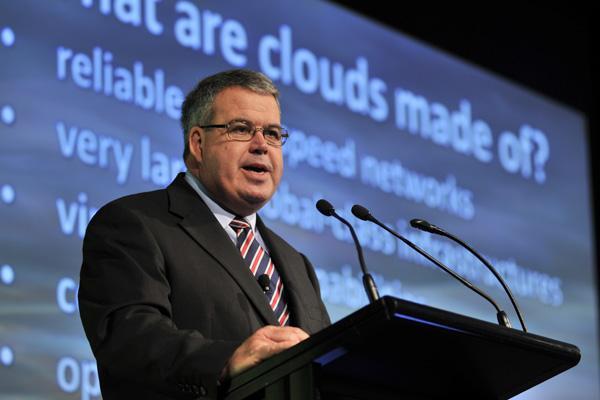 Australian Government chief technology officer, John Sheridan.