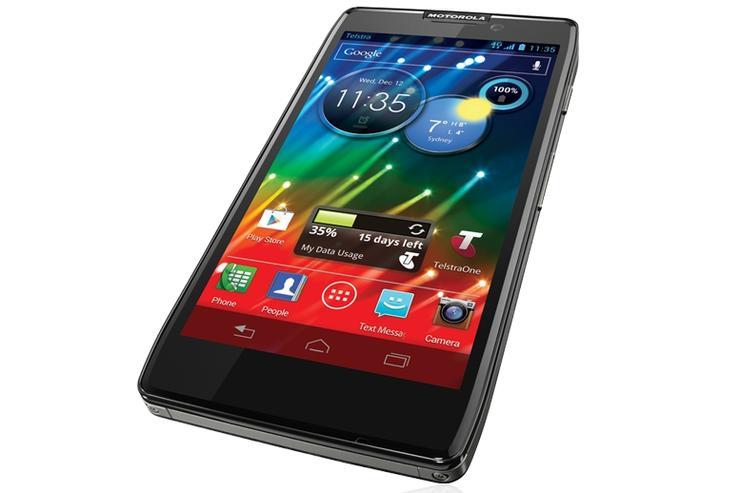 The Motorola RAZR HD