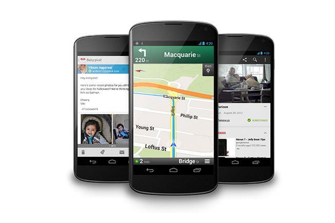 Google's Nexus 4 smartphone.