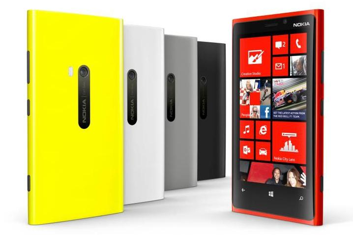 The Nokia Lumia 920 Windows Phone: now available to pre-order through Telstra.