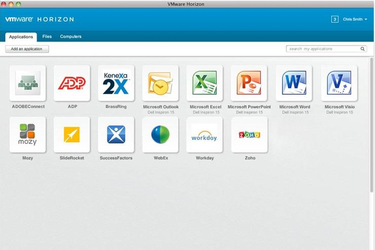 A look at VMware's new Horizon Suite. Credit: VMware