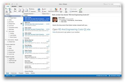 Outlook for Mac 15.3