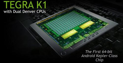 Nvidia's Tegra K1 64-bit chip slide