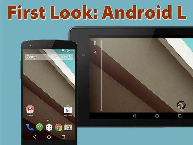 In Pictures: Android L in action