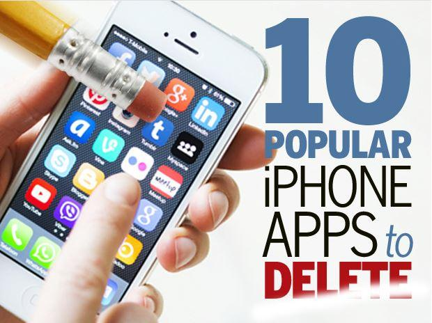 In Pictures: 10 popular iPhone apps you should delete