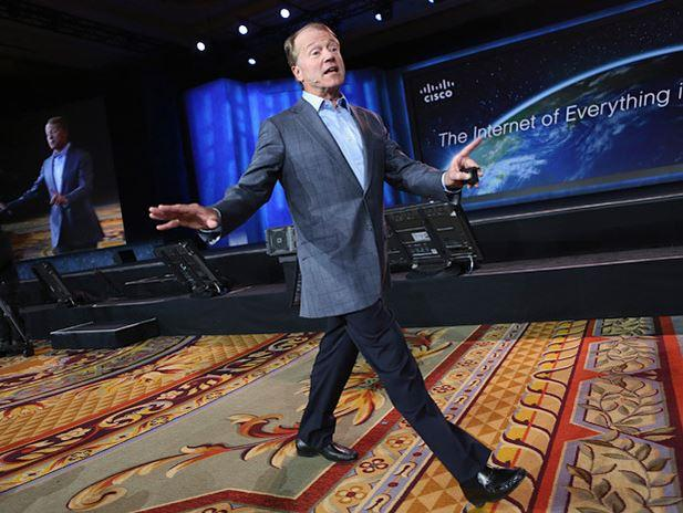 In Pictures: How Cisco's Chambers kept a high profile