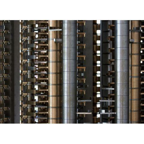 Babbage's Difference Engine up close