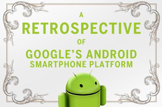 In Pictures: A retrospective of Google's Android mobile platform