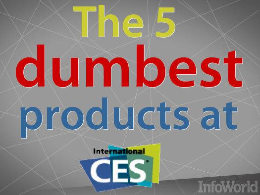 In Pictures: The dumbest products of CES 2013