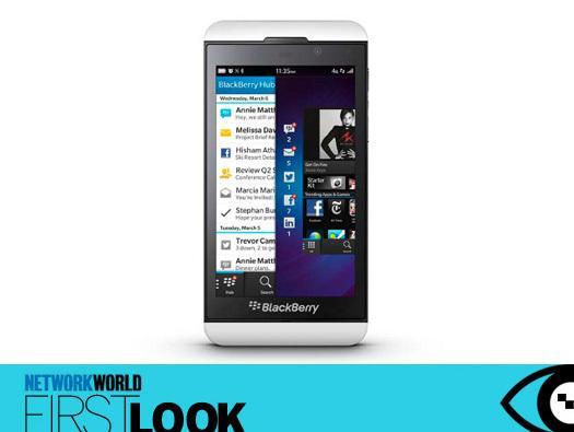 In Pictures: BlackBerry 10 smartphones