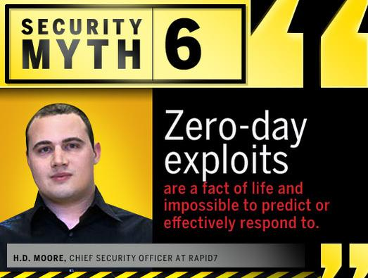 In Pictures: 13 of the biggest security myths busted