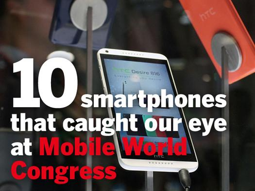 In Pictures: 10 smartphones that caught our eye at Mobile World Congress