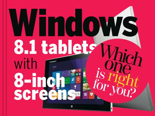 In Pictures: Windows 8.1 tablets with 8-inch screens: Which one is right for you?