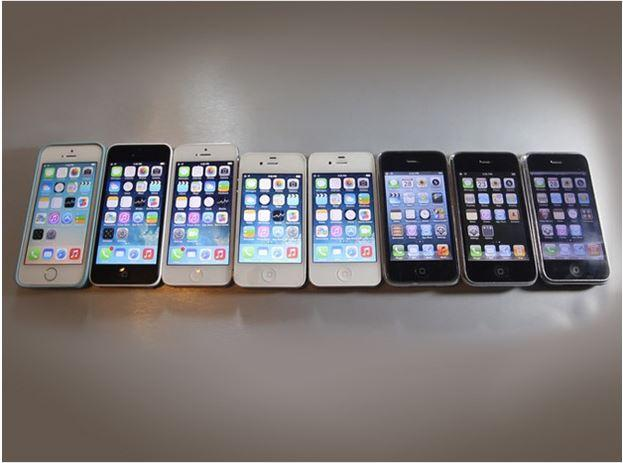 In Pictures: Apple's most important iPhone upgrades over the years
