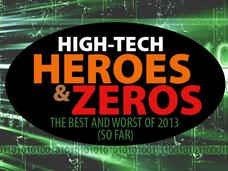 In Pictures: High-tech heroes and zeros: 2013's best and worst (so far)
