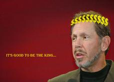 Larry Ellison in Pictures: It's Good to Be The King