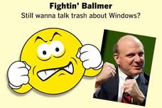Microsoft&#39;s Steve Ballmer as emoticons 