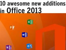 In Pictures: 10  new additions in Office 2013