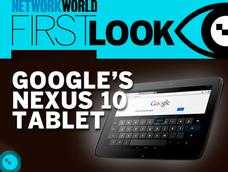 In Pictures: Google's Nexus 10 tablet