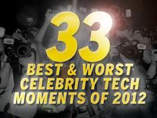 In Pictures: 33 best and worst celebrity tech moments of 2012