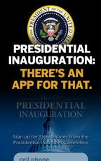 In Pictures: Presidential Inauguration - theres an app for that