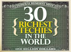 In Pictures: 30 richest techies in the world