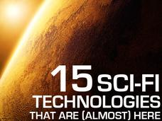 In Pictures: Science vs. fiction: 15 sci-fi technologies that are (almost) here