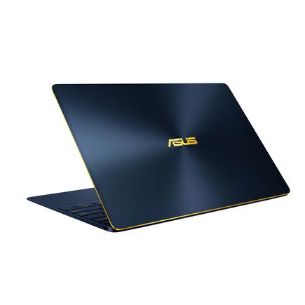 The Asus ZenBook 3 notebook in royal blue