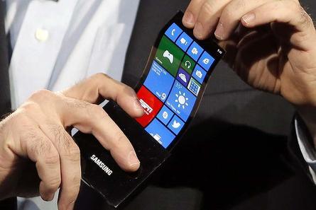 bendable phones