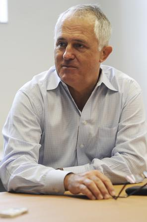 Shadow communications minister, Malcolm Turnbull