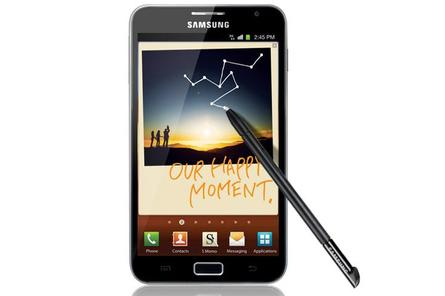"The Samsung Galaxy Note: coming to Australia in ""early 2012"""